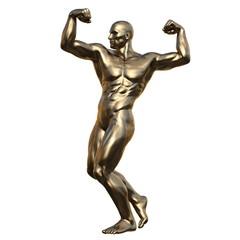 男性の彫刻