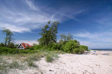 Sandstrand auf Bornholm