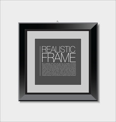 Realistic frame