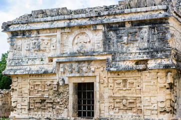 One of the temples of Chichen Itza, Mexico
