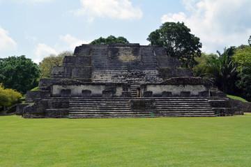 Altun Ha Temple/ Sun God Mayan Ruins