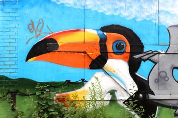Street art / Doel (Belgique)