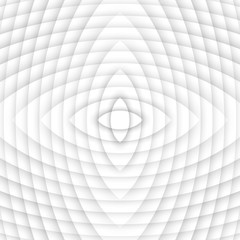 Wavy grey white background. Vector of abstract waves.