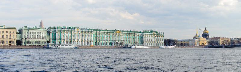 The State Hermitage, WInter Palce, a museum of art and culture in Saint Petersburg, Russia.