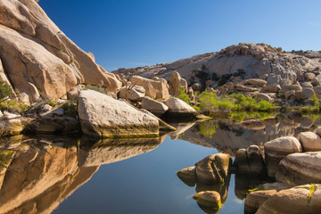 Barker Dam in Joshua Tree National Park, CA