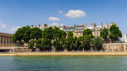 Bank of River Seine
