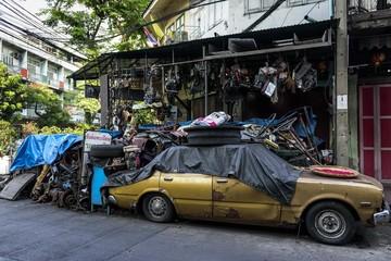 автомастерская в Бангкоке