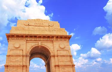 Printed roller blinds Delhi India Gate memorial in New Delhi, India