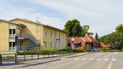 Building in Sigtuna, Sweden
