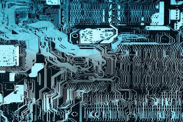 Computer chip background