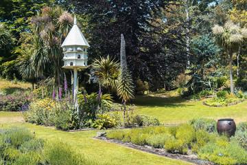 stylish English garden