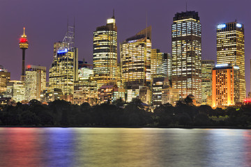 RBG City close bright high-rises
