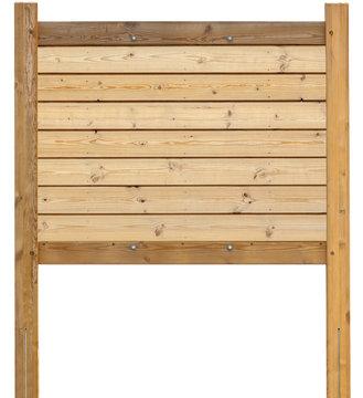 panneau d'affichage en bois brut naturel