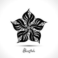Vector Abstract Starfish