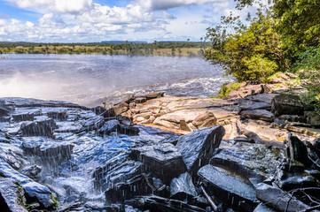 Nature of the Canaima National Park, Venezuela, South America