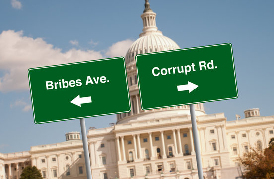 Street signs in Washington D.C.