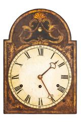 Genuine ornamental seventeenth century clock