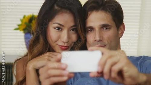 Interracial selfies