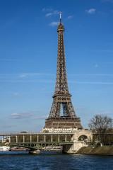 Eiffel Tower (La Tour Eiffel). Paris, France.