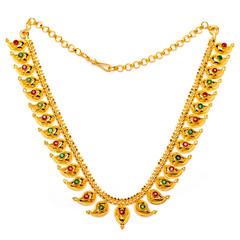 Gold Mango necklace