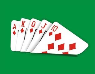 Poker full hand
