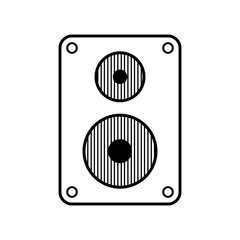 Audio speaker icon.