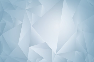 Abstract blue geometric background with space for text, Vector