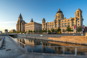 The Three Graces in Liverpool