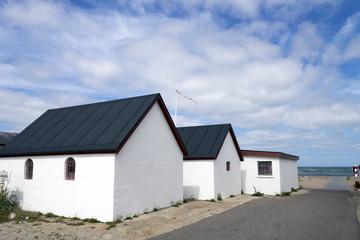 Fischerhütten in Dänemark