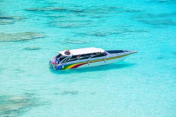 clear water beautiful sea like a heaven at Similan island