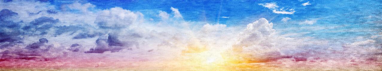 Sky panoramic