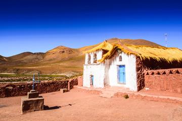 House in the San Pedro de Atacama town, Atacama desert, Chile