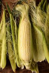Corn on the Cob Shucked