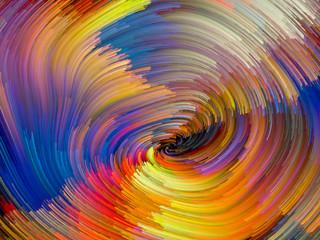 Color Vortex Abstraction