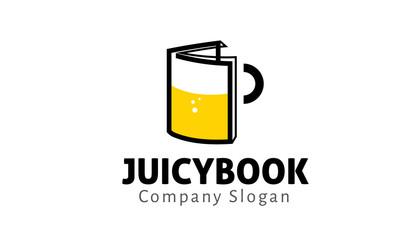 Juicy Book Logo template