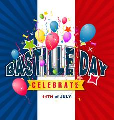 14th July Bastille Day of France
