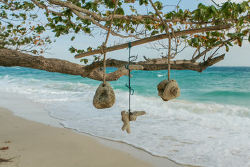 Coral hang dry handcrafted