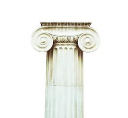 Antique column in doric style