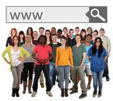 Junge Leute Im Internet Kennenlernen