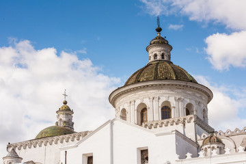 Architecture of the Historic center of Quito. Historic center of Quito is the first UNESCO WOrld Heritage site