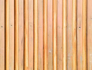 Golden wooden wall