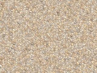 砂利のテクスチャ / 細かい砂利が敷き詰められた道のテクスチャです。