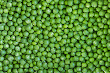 Green pea background texture
