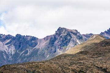 Beautiful landscape of the Cotopaxi National Park, Ecuador