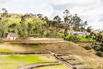 Ingapirca, Inca city, Ecuador
