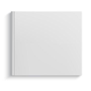 Blank hardcover album template