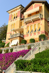 House at the coast of Levanto in Liguria