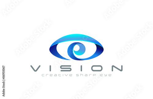 """""""Eye Logo abstract design vector template...Creative ..."""