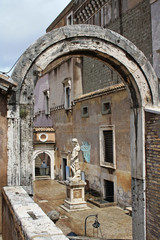 Yard at Castel Sant'Angelo in Rome