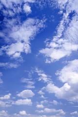 Landscape of cloud and blue sky
